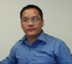 Photograph of Edmund Concepcion, Inserve - marine surveyors and consultants